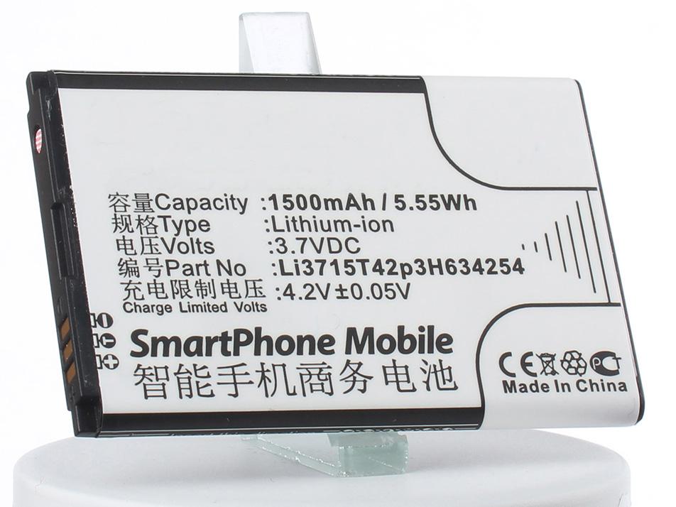 Аккумулятор для телефона iBatt Li3715T42p3H634254 для ZTE Blade G, Leo Q1, V765