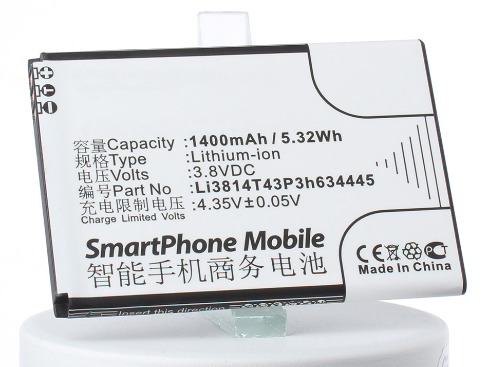 цена на Аккумулятор для телефона iBatt Li3814T43P3h634445 для ZTE Blade L110, Blade L110 Dual SIM