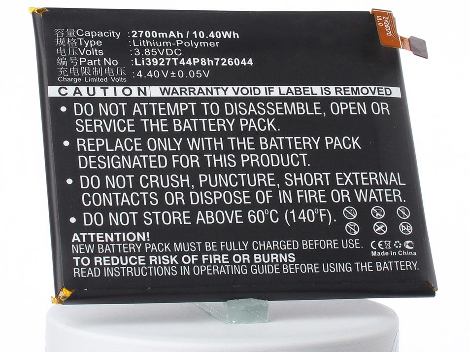 Аккумулятор для телефона iBatt Li3927T44P8h726044 для ZTE Axon 7 mini, B2017G, Axon 7 Mini Dual смартфон zte axon 7 mini золотистый