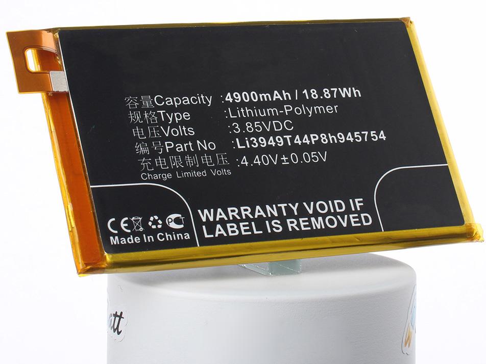 Аккумулятор для телефона iBatt Li3949T44P8h945754 для ZTE Blade A2 Plus, BV0720, Blade A2 Plus Dual SIM TD-LTE