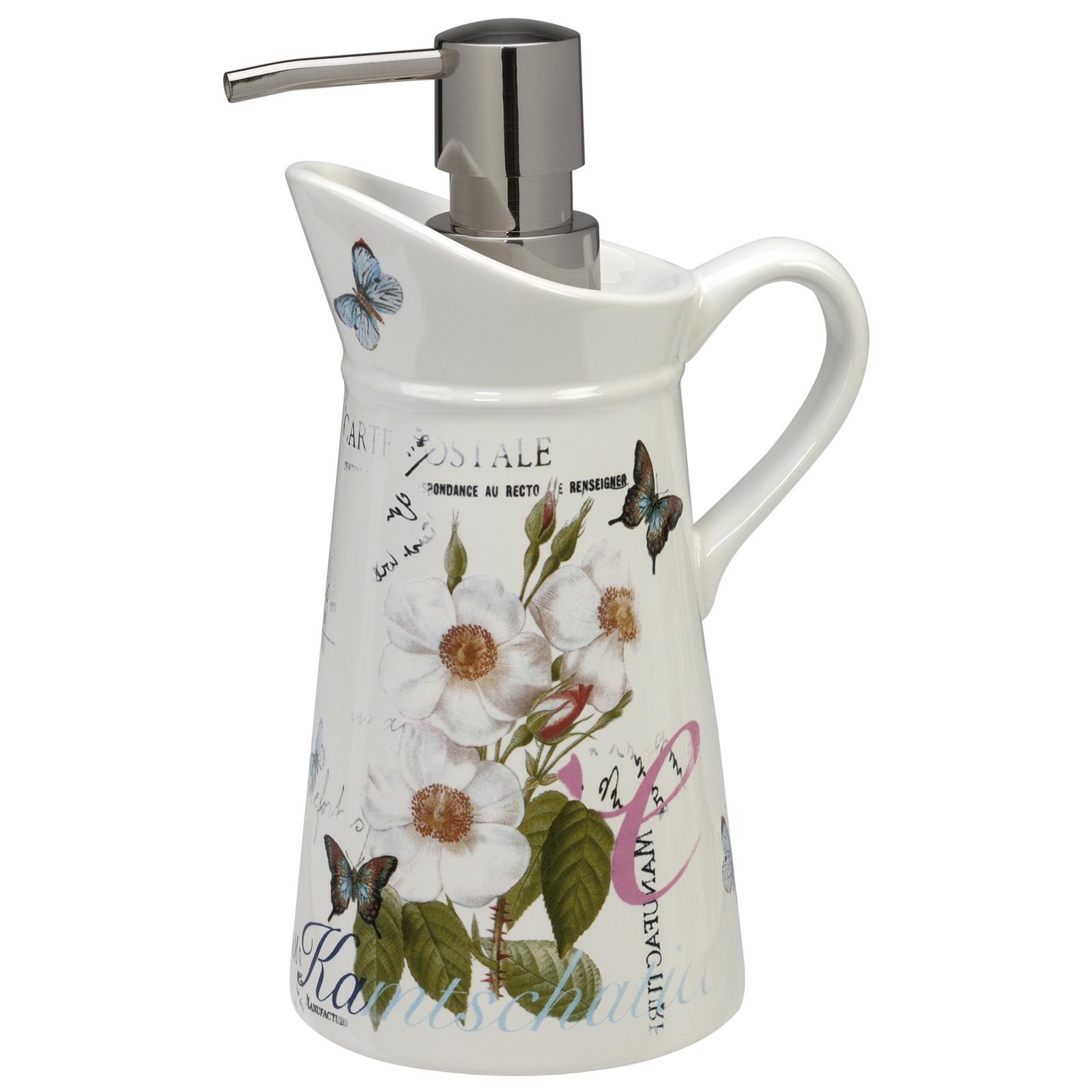 Диспенсер для мыла Creative Bath Botanical Dairy, белый