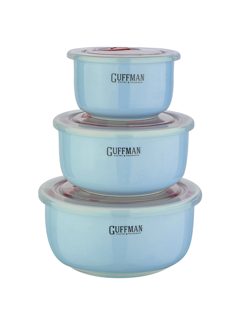 Контейнер пищевой Guffman Ceramics, голубой
