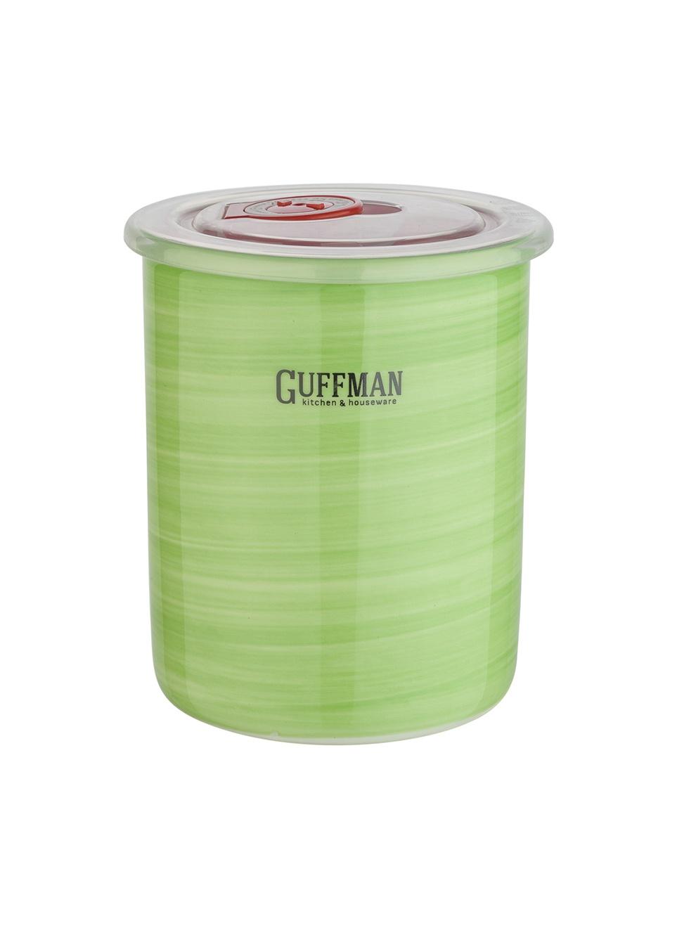 Банка для сыпучих продуктов Guffman Ceramics, зеленый все цены