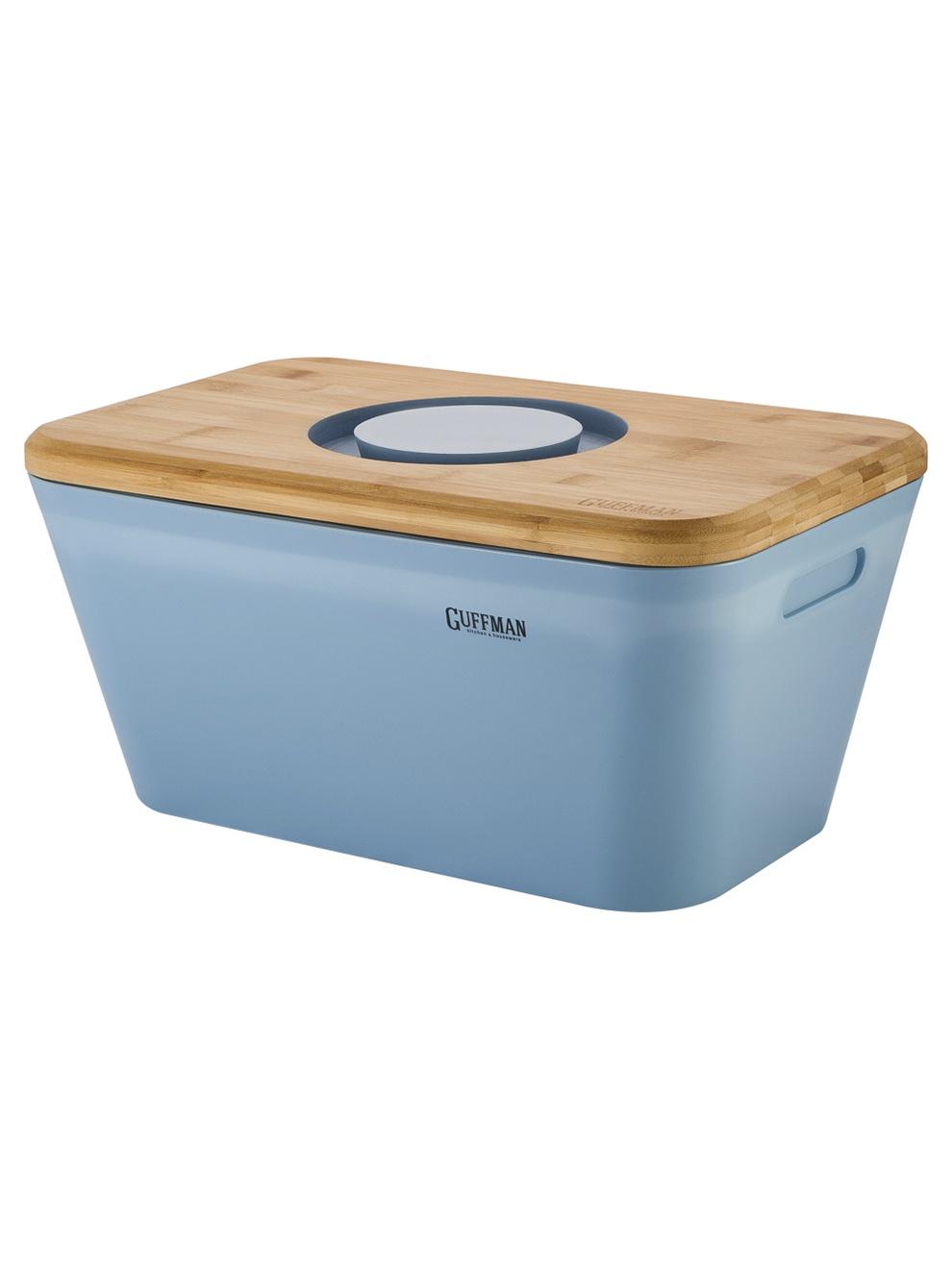 Хлебница Guffman Casa, голубой ларес хлебница бамбук 41 5х20х19см