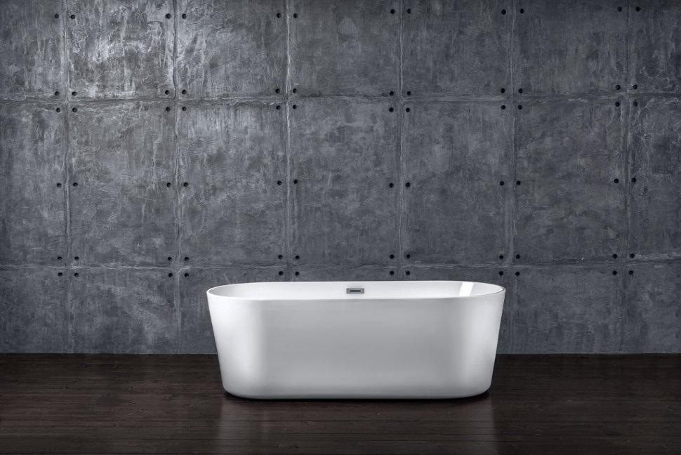 Ванна NT Bathroom Отдельностоящая акриловая NT07 Lago Maggiore 180x60, белый антенна d color dca 103a