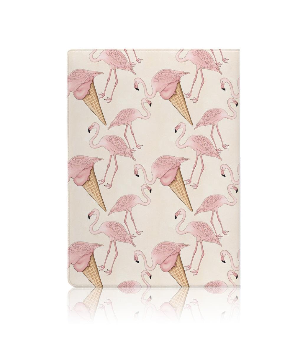 Обложка для документов ilikegift Flamingo Ice cream обложка для паспорта printio ice cream
