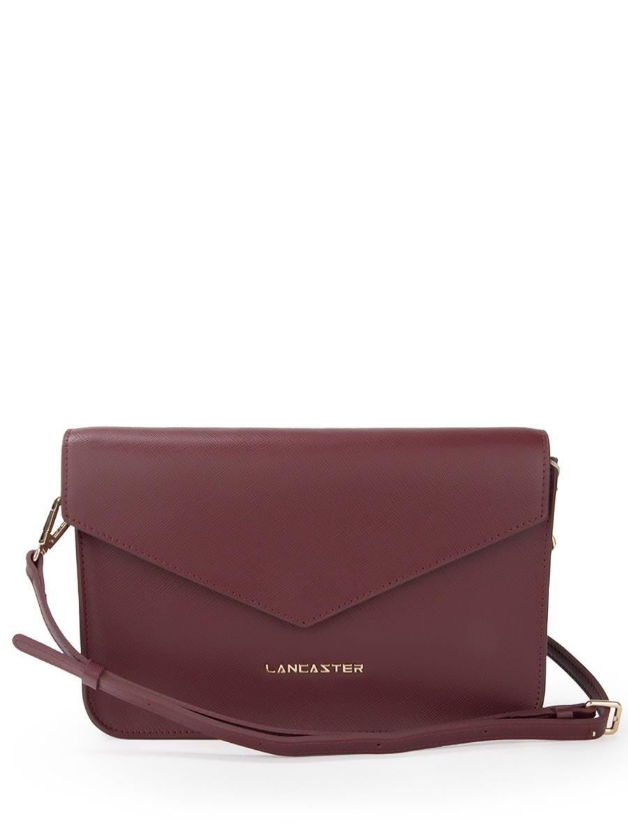 Сумка LANCASTER 527-08-BORDEAUXконвертБордовый сумка lancaster 527 07 ivoire