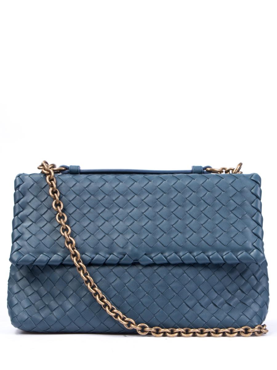 Сумка Bottega Veneta 386498Голубой сумка bottega veneta 367639v00165362 bv 2014