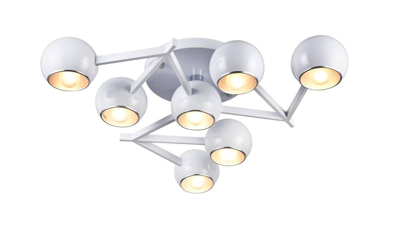 Потолочный светильник ST Luce SL853.502.07, белый люстра st luce rottura sl853 602 07 потолочная
