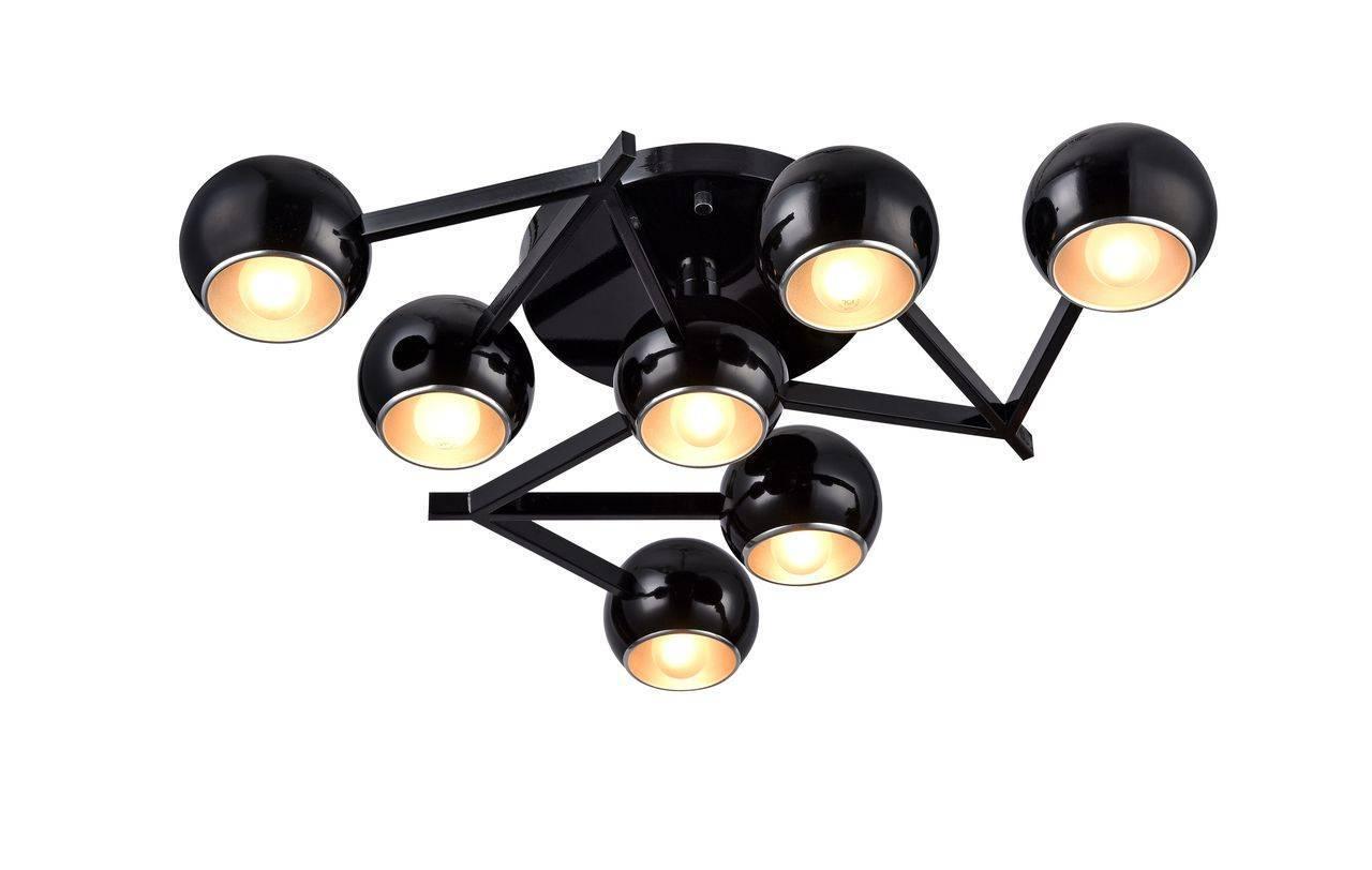 Потолочный светильник ST Luce SL853.402.07, черный люстра st luce rottura sl853 602 07 потолочная