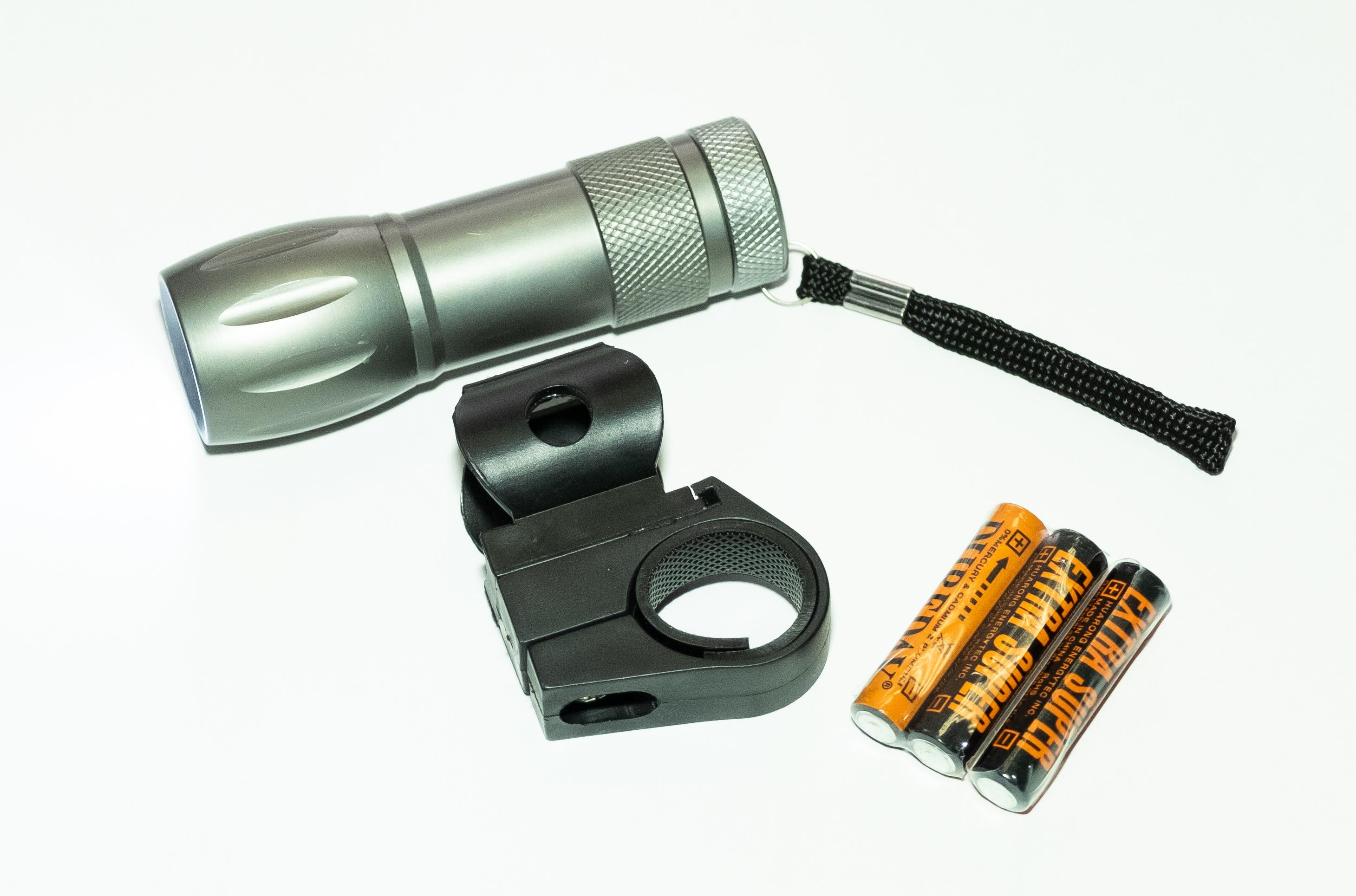 Светоотражатель для велосипеда 12030, серый