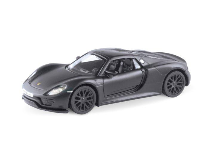 Машинка-игрушка AUTOGRAND PORSHE 918 SPYDER' черный