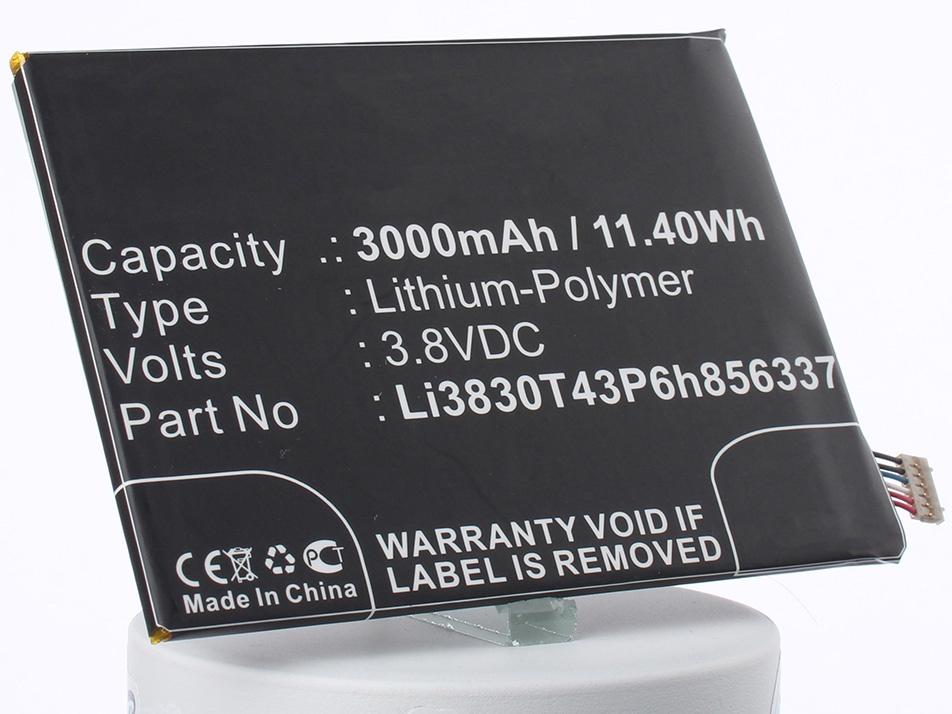 Аккумулятор для телефона iBatt Li3830T43P6h856337 для Blackberry Aurora 5.5, Blade A602, Aurora, Aurora Dual SIM TD-LTE, BA602, Blade S6 Lux Dual SIM
