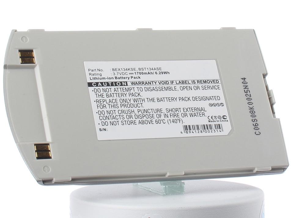 Аккумулятор для телефона iBatt BEX134KSE для Samsung SGH-i700, SPH-I700 внешний аккумулятор samsung eb pn930csrgru 10200mah серый