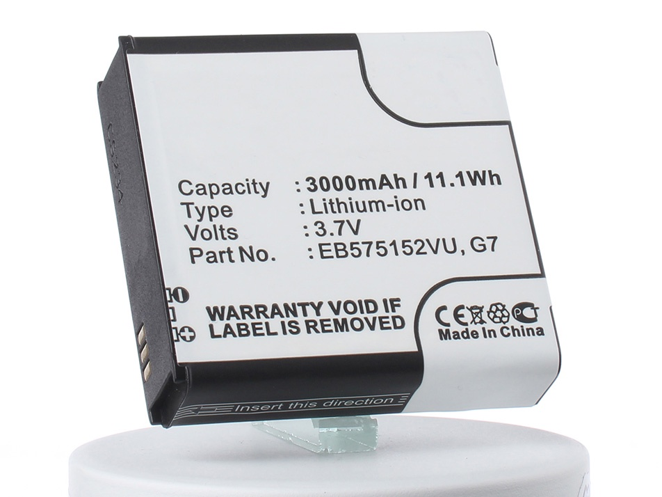Аккумулятор для телефона iBatt EB575152LU, EB575152VU, EB575152VA, CS-SMG900XL для Samsung Galaxy Plus, Galaxy S PLUS, GT-i9001 Galaxy S Plus, GT-i9000 Galaxy S, SGH-T959, SGH-T959V, Galaxy S, GT-i9008 Galaxy S, SGH-T959W replacement 3 7v 1500mah battery usb charging data cable for samsung galaxy s i9000 t959 epic 4g