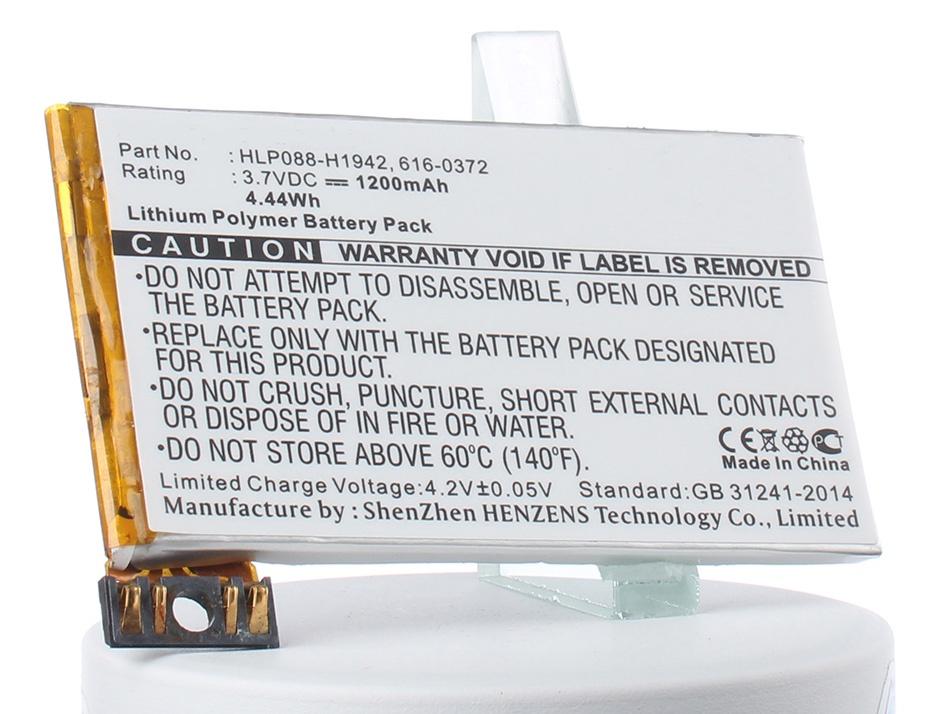 Аккумулятор для телефона iBatt 616-0372 для Apple iPhone 3G, iPhone 3G 16GB, iPhone 3G 8GB tle6208 3g