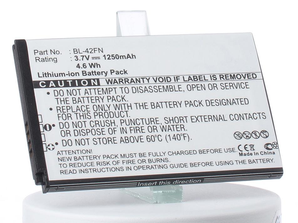 Аккумулятор для телефона iBatt BL-42FN для LG P350, Optimus Me, P350 Optimus Me, C550 Optimus Chat, C550 аккумулятор для телефона ibatt bl 59uh eac62258801 для lg d320 d620 d315 d618 optimus g2 mini d620 optimus g2 mini