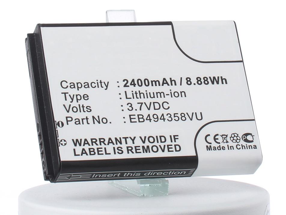 Аккумулятор для телефона iBatt EB494358VU для Samsung GT-S5830i, GT-S5830, GT-S5830i Galaxy Ace, GT-S5830i Galaxy Ace La Fleur, GT-S5830T, GT-S5830 Galaxy Ace (Cooper) стоимость