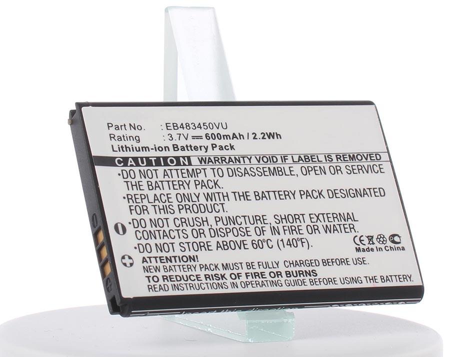 Аккумулятор для телефона iBatt EB483450VU, CS-SMC363SL для Samsung GT-C3752, GT-S5350, GT-C3630, GT-C3230, GT-C3630C samsung gt s5620 monte