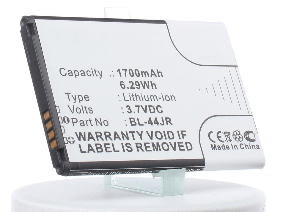 Аккумулятор для телефона iBatt BL-44JR для LG KU5400, Optimus EX, K2, P940 Prada 3.0 (LG K2), SU880 Optimus EX аккумулятор для телефона craftmann bl 53yh для lg d855 g3 с увеличенной ёмкостью до 5900 mah и крышкой чёрного цвета