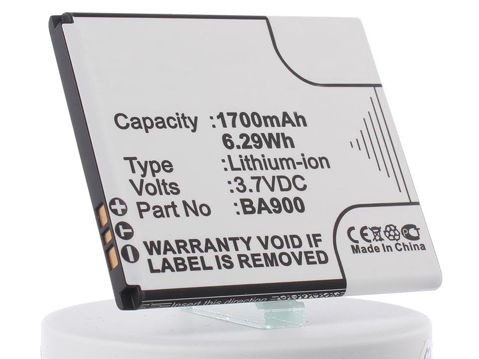 Аккумулятор для телефона iBatt BA900, AGLB006-A001 для Sony Xperia M (C1905), Xperia J (ST26i), Xperia L (C2105), Xperia TX (LT29i), Xperia M Dual (C2005), Xperia E1 Dual (D2105), C1904, Xperia GX (SO-04D), C1905, C2004