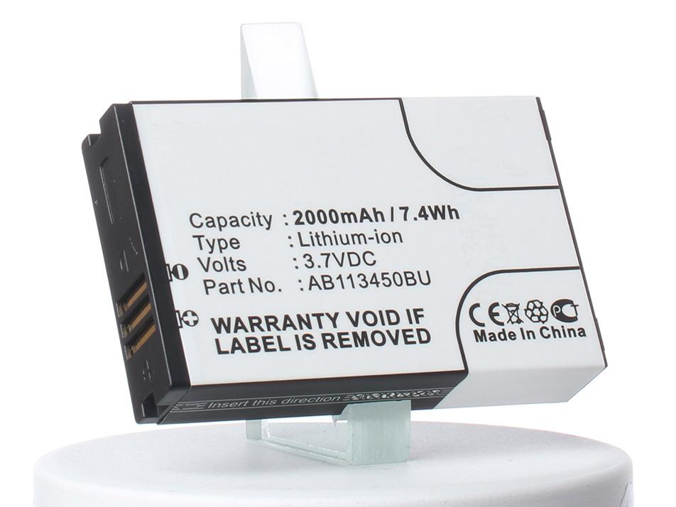 Аккумулятор для телефона iBatt AB113450BU, EB113454VU для Samsung GT-E2370, Xcover E2370, E2370 Solid, GT-E2370 Solid аккумулятор для телефона ibatt ib ab113450bu m508