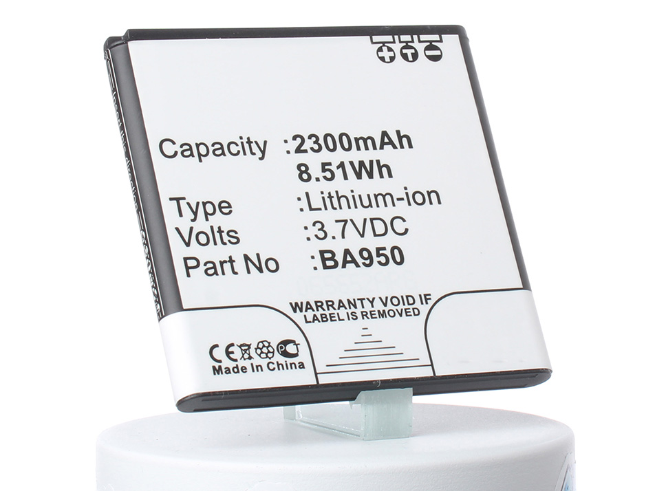 Аккумулятор для телефона iBatt BA950, AGPB010-A002 для Sony Xperia A, Xperia ZR (C5502), Xperia ZR LTE (C5503), C550X, C5502, C5503