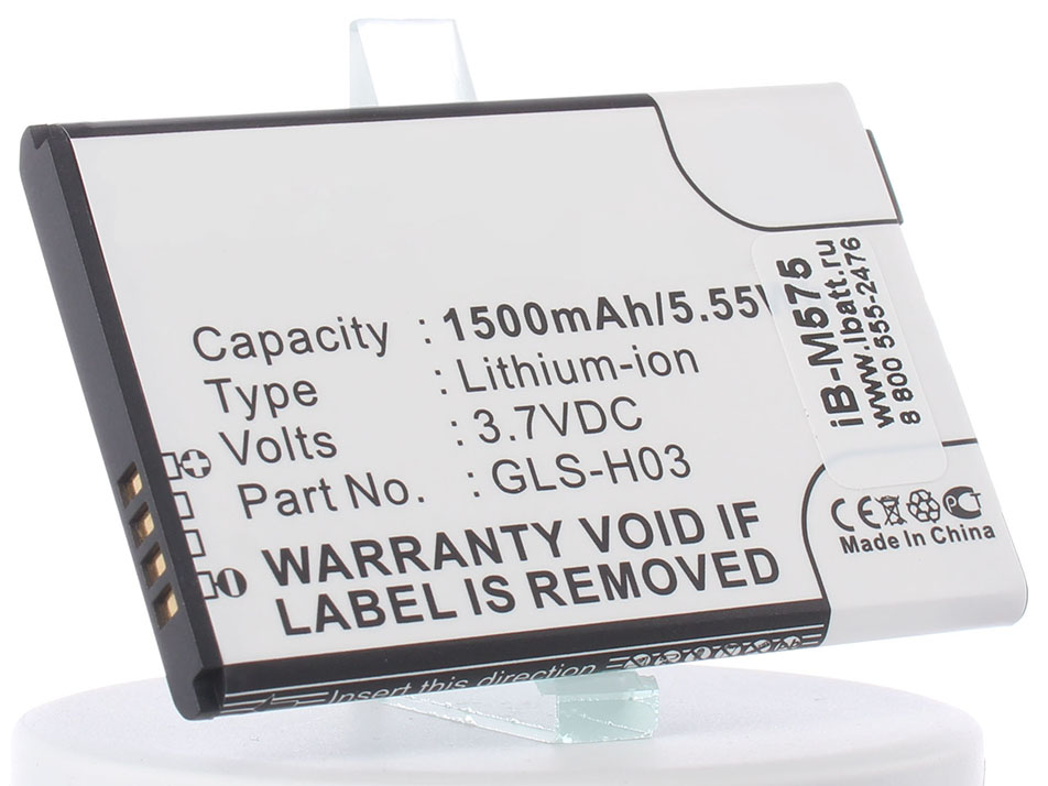 Аккумулятор для телефона iBatt GLS-H03 для Gigabyte G1345, GSmart G1345 цена