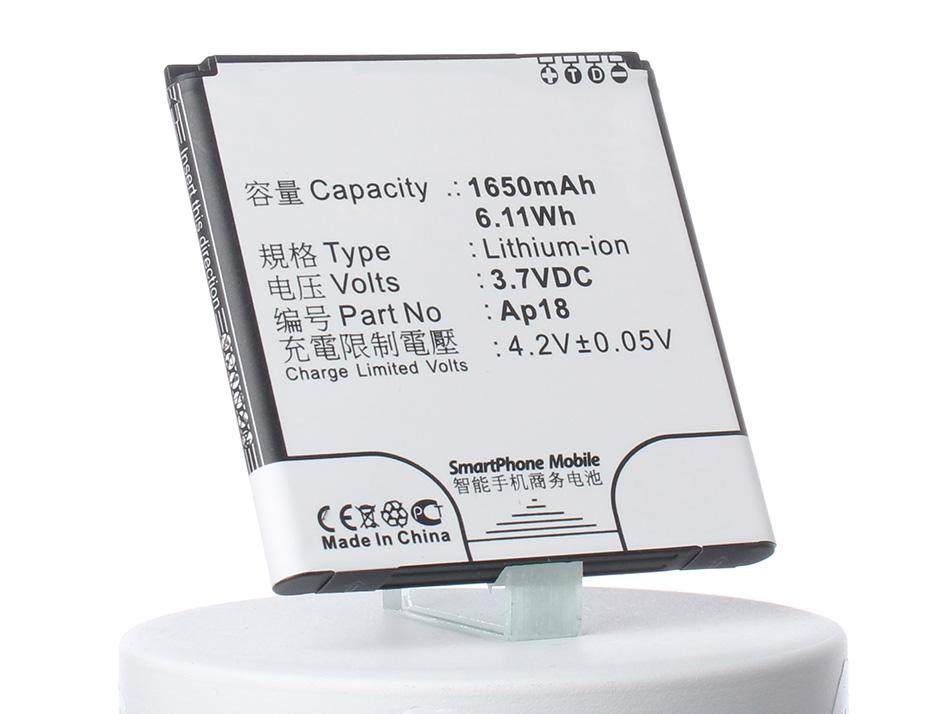 Аккумулятор для телефона iBatt AP18 для Acer V360, Liquid E1, Liquid E1 Duo (V360), Liquid E1 Dou аккумулятор для телефона ibatt bat a12 kt 00104 002 для acer liquid z520 liquid z520 duo liquid z520 dual sim
