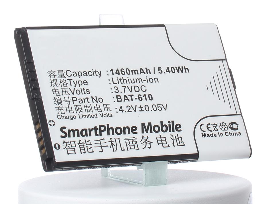 Аккумулятор для телефона iBatt BAT-610, CS-ACS500SL для Acer Cloud Mobile, CloudMobile S500, S500