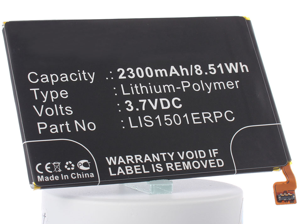 Аккумулятор для телефона iBatt LIS1501ERPC для Sony Xperia X, Xperia ZQ (C6503), Xperia ZL (C6502, C6503, LT35i), Xperia ZL LTE (C6506), C6503, Calla DS, CN3