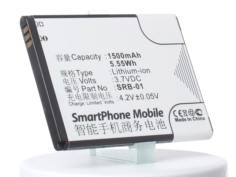 цена на Аккумулятор для телефона iBatt SRB-01 для GSmart Rio R1, GSmart Rio R1