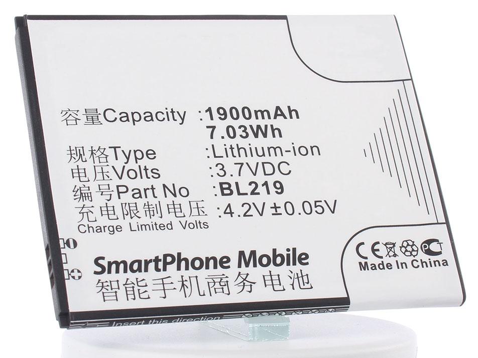 Аккумулятор для телефона iBatt BL219 для Lenovo A916, S856, A880, A889, A388t, S810t, A850+ аккумулятор для телефона ibatt ib bl219 m640