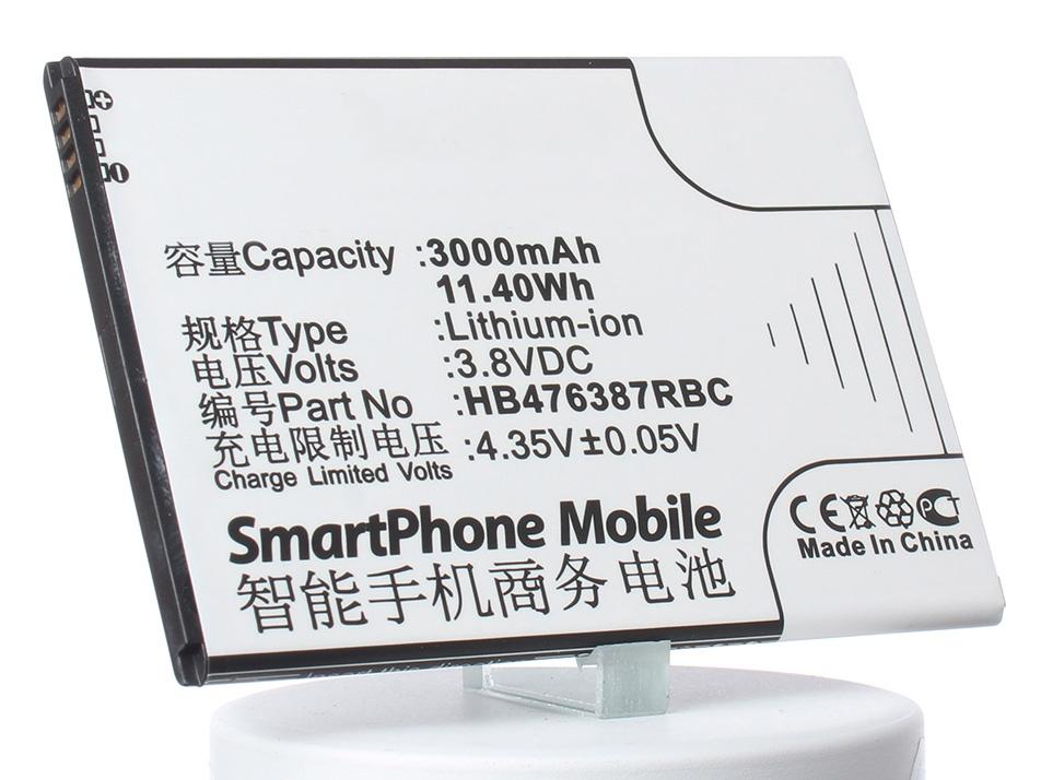 Аккумулятор для телефона iBatt HB476387RBC для Huawei B199, Ascend G750, Ascend G750 (Honor 3X), Ascend G750-T00, Ascend G750-T01 аккумулятор для телефона ibatt hb496791ebc для huawei ascend mate ascend mate 2 ascend mate2 ascend mate ii