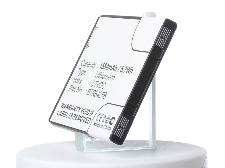 Аккумулятор для телефона iBatt BH98100, BTR6425B, CS-HT6425XL для HTC Desire SV, Rezound, Desire SV (HTC T326e), ADR6425, ADR6425LVW аккумулятор для телефона ibatt bl01100 ba s850 для htc desire 200 a320e desire c htc a320e desire 200 102e d210h