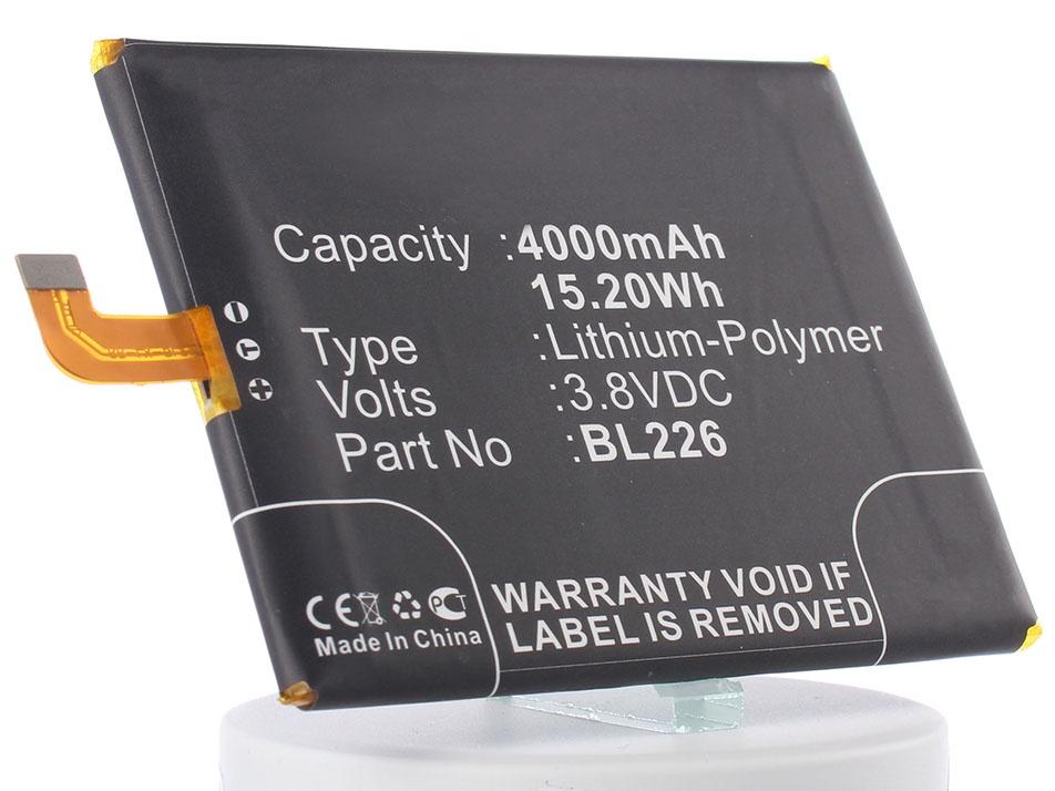 Аккумулятор для телефона iBatt BL226 для Lenovo S860 цена