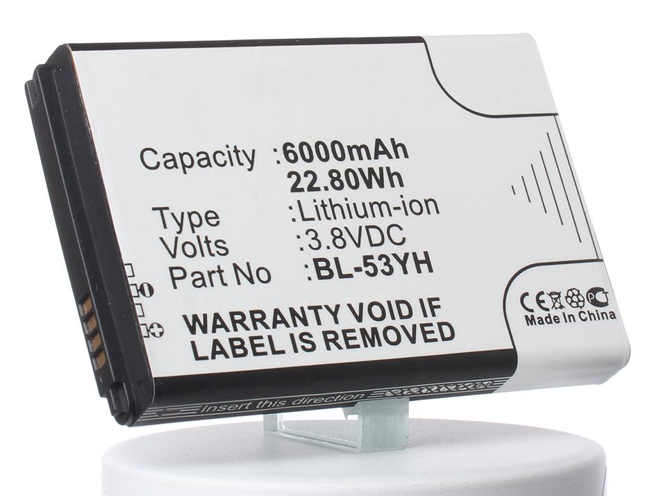 Аккумулятор для телефона iBatt BL-53YH для LG D855 G3, D851 G3, D850 G3, D856 (LG G3 Dual-LTE), VS985 G3, LS990 G3, F400 G3, D830, D850, D850 LTE аккумулятор для телефона ibatt bl 53yh для lg d855 g3 d690 d690 g3 stylus d851 g3 d850 g3 d856 lg g3 dual lte vs985 g3 ls990 g3 d690n f400 g3 aka