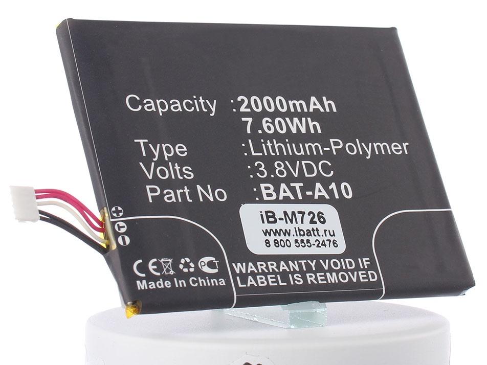 Аккумулятор для телефона iBatt BAT-A10 для Acer E380, Liquid E3, Liquid Z5, Liquid Z5 (Acer Z150), Liquid E3 (Acer E380) hercules e3