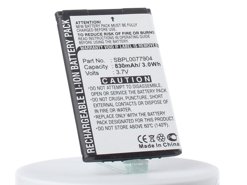 Аккумулятор для телефона iBatt LGTL-GBIP-830, SBPL0077904, CS-LB2100SL, SBPL0077901 для LG B2000, B2100, KG115, B2050, KG245, G632, G639, KG240, KX236, C636, L343i