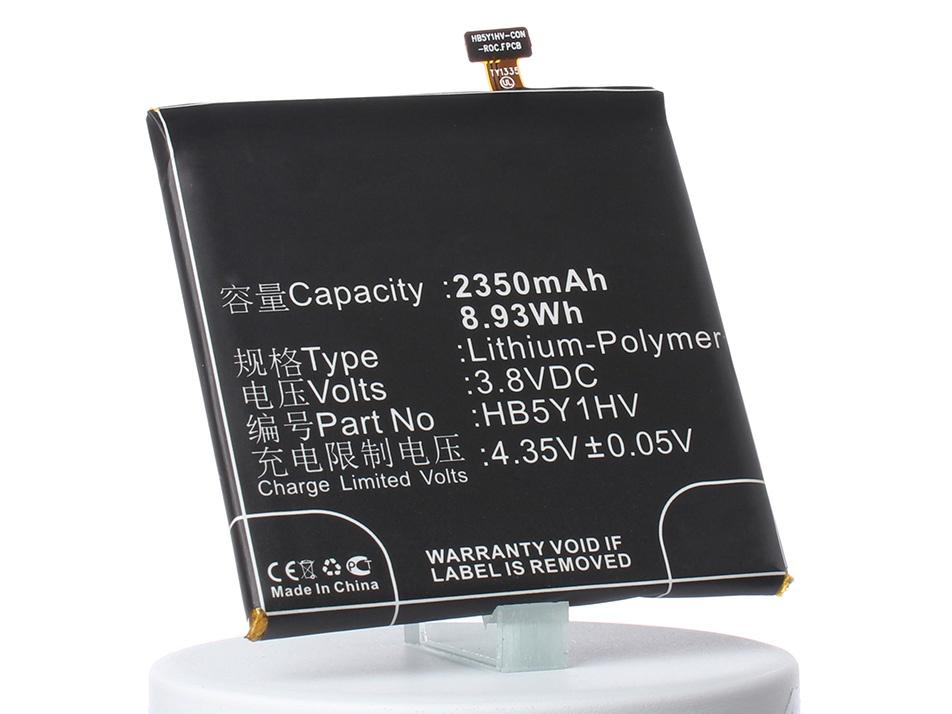 Аккумулятор для телефона iBatt HB5Y1V, HB5Y1HV для Huawei Ascend P2, GL07S, Stream X аккумулятор для телефона ibatt ib hb5y1hv m734