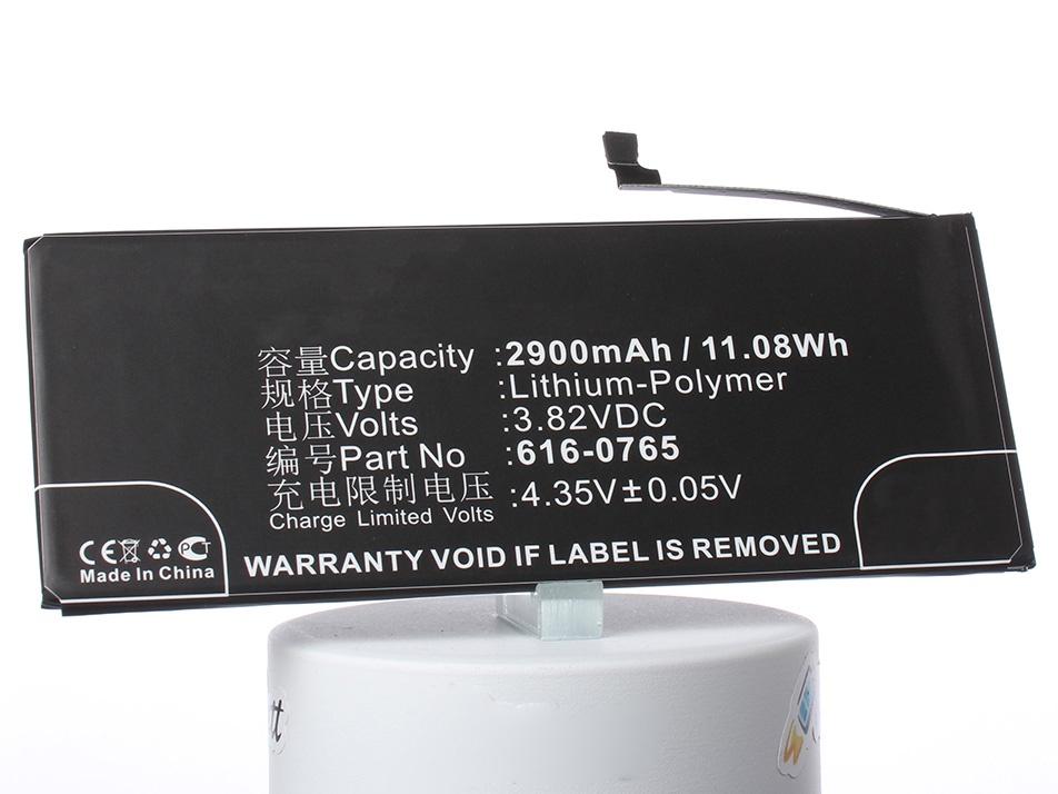 Аккумулятор для телефона iBatt 616-0770, 616-0772, 616-0765 для Apple iPhone 6 Plus, A1524, A1522, A1593 цена