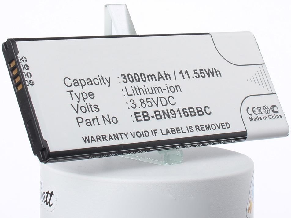 Аккумулятор для телефона iBatt EB-BN916BBC для Samsung SM-N9100, Galaxy Note 4 ( China Mobile ), SM-N9106W