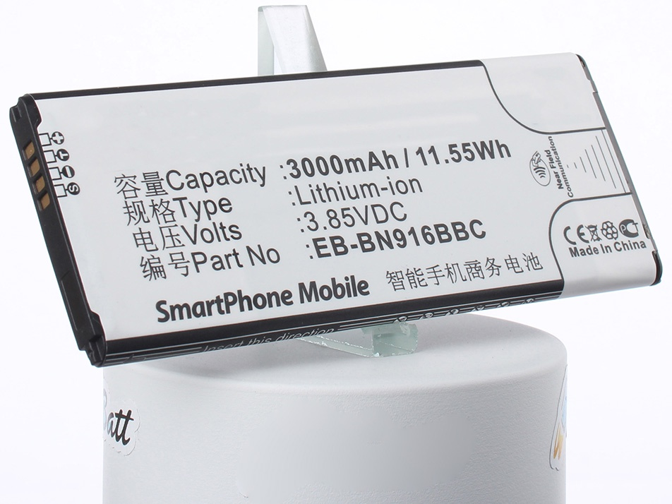 Аккумулятор для телефона iBatt EB-BN916BBC для Samsung SM-N9100, SM-N9106, Galaxy Note 4 ( China Mobile ) 450w cree cxb3590 cob full spectrum led grow light waterproof quicker heat dissipation energy efficient widely used in all stage