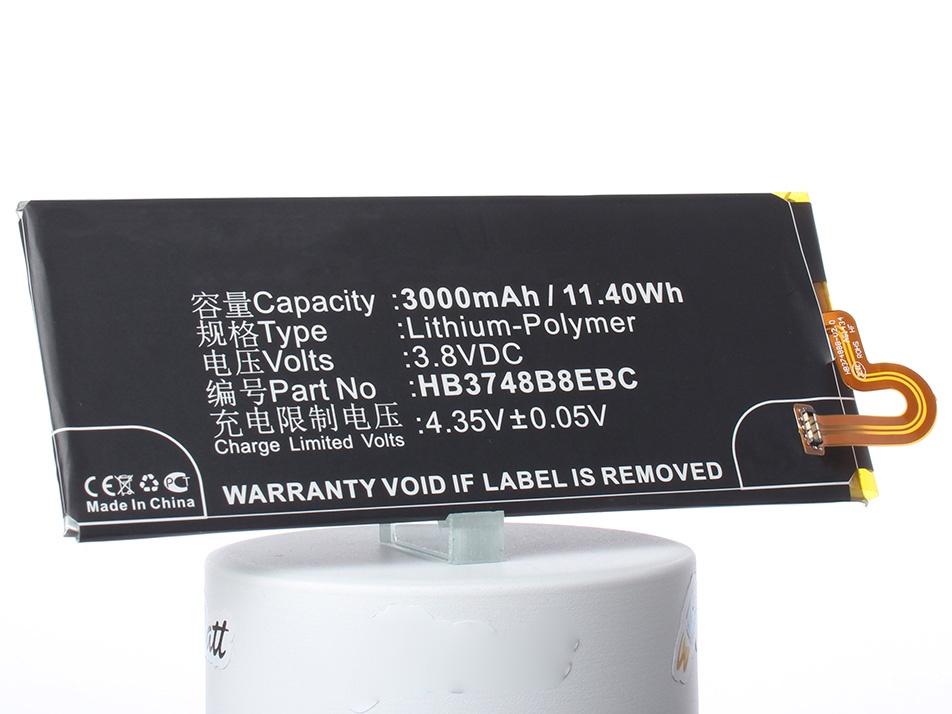 Аккумулятор для телефона iBatt HB3748B8EBC для Huawei Ascend G7, Ascend G7 (G7-L01), Ascend G7-L01, Ascend G7 Plus, Ascend G7 (G7-L03) v216b1 l01 lta216at01 claa216wa01 claa220wa01 t216xw01 lcd screen