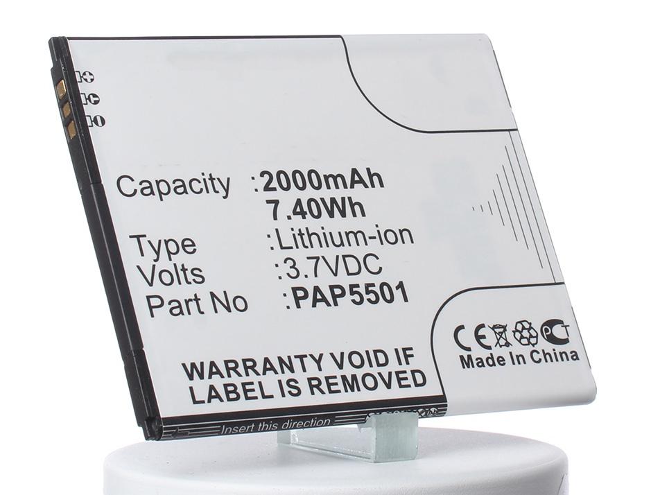Аккумулятор для телефона iBatt PAP5501 для Prestigio PAP5501, MultiPhone 5501, MultiPhone 5501 Duo фоста fosta f 5501 корсет поясничный эластичный xl