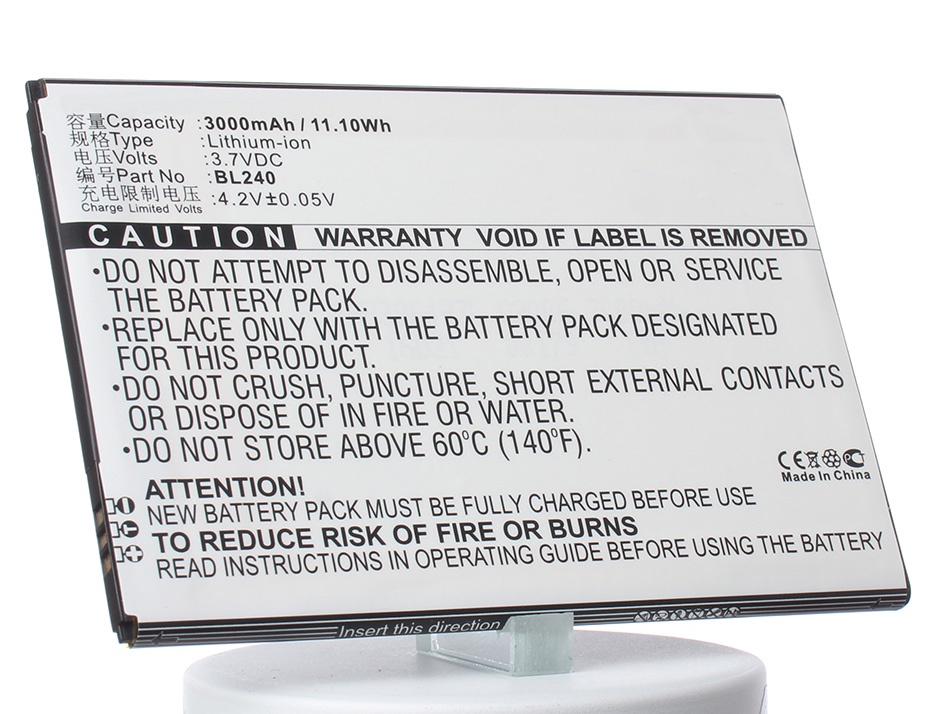Аккумулятор для телефона iBatt BL240 для Lenovo A936, A936 Note 8 аккумулятор для телефона ibatt bl240 для lenovo a936 a936 note 8