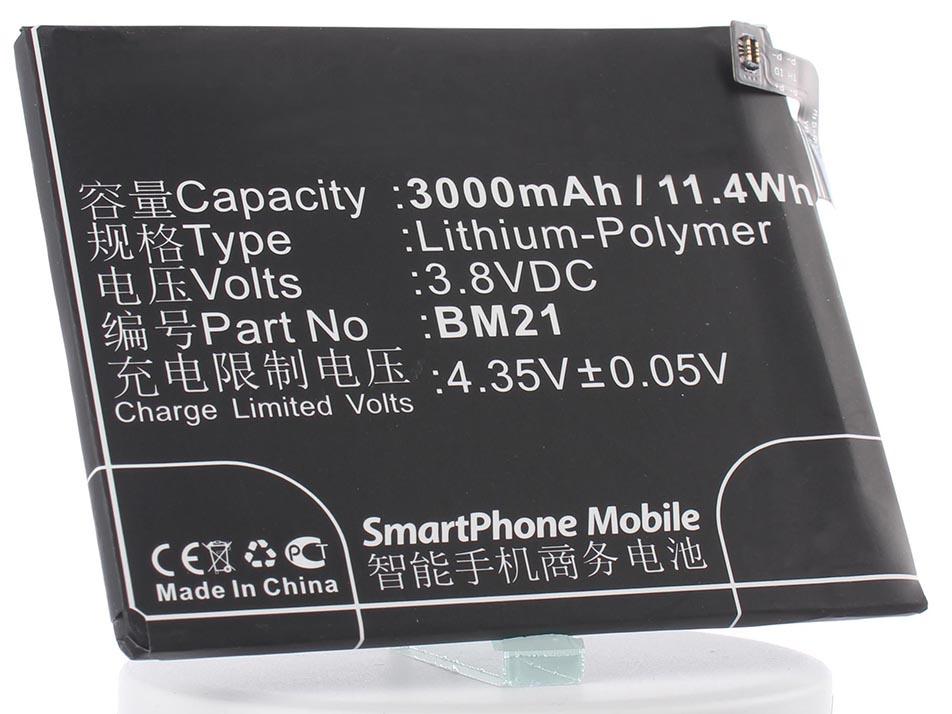 Аккумулятор для телефона iBatt BM21 для Xiaomi Mi Note, Libra аккумулятор для телефона ibatt bm21 для xiaomi mi note libra