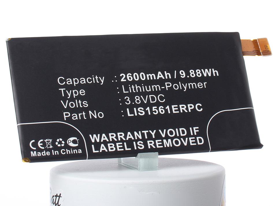 Аккумулятор для телефона iBatt LIS1561ERPC для Xperia Z3 Compact (E5803), Xperia C4 (E5303, E5306, E5353), Xperia C4 Dual LTE (E5333, E5343, E5363), Cosmos DS, , D5833