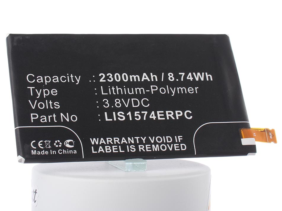 Аккумулятор для телефона iBatt LIS1574ERPC, 1288-1798 для Sony Xperia Z2 Compact, Xperia E4 (E2105), E2006, Altair Maki, E2003 mooncase чехол для sony xperia e4 wallet flip card slot leather bracket back red