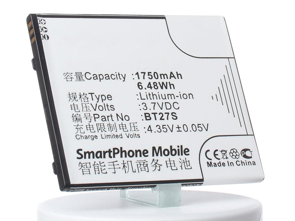 Аккумулятор для телефона iBatt BT27S для Zopo ZP700, 6530 аккумулятор для телефона ibatt cp09 li3710t42p3h553657 для just5 cp09 1050 s302